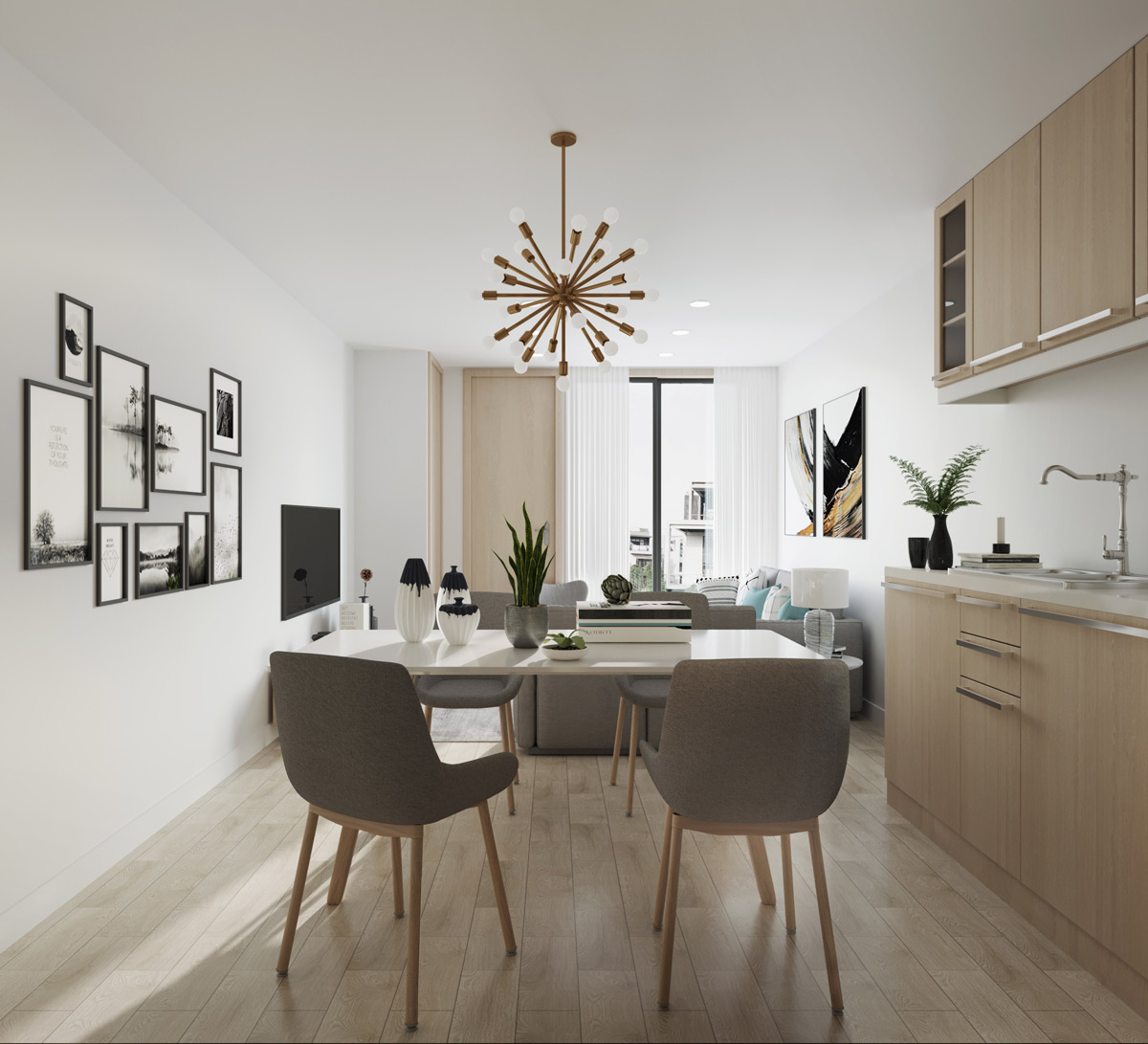 Vancouver Townhome Interior
